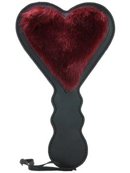 Oboustranná široká plácačka ve tvaru srdíčka Enchanted S&M – Plácačky na spanking