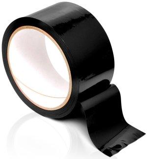 Páska na bondage Pleasure Tape, černá – Lana a pásky na bondage (svazování)