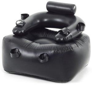 Nafukovací křeslo na bondage – Erotický nábytek a bytové doplňky