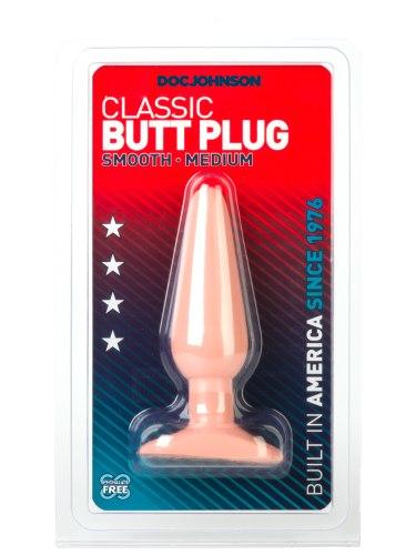 Anální kolík Classic Smooth Medium (střední)