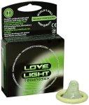 Svítící kondomy Love Light Technosex