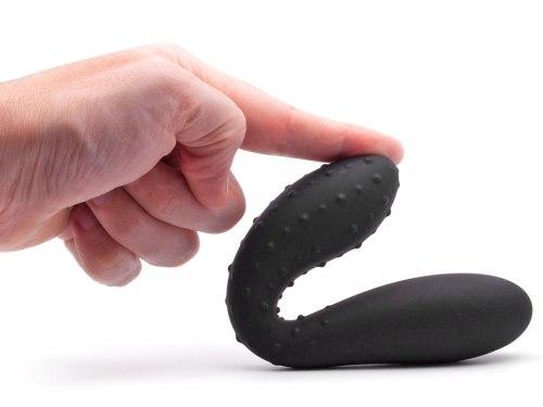 Oboustranný stimulátor - silikonové dildo Cactus
