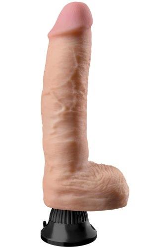 Realistický vibrátor s varlaty Real Feel Deluxe No. 9 (23 cm)