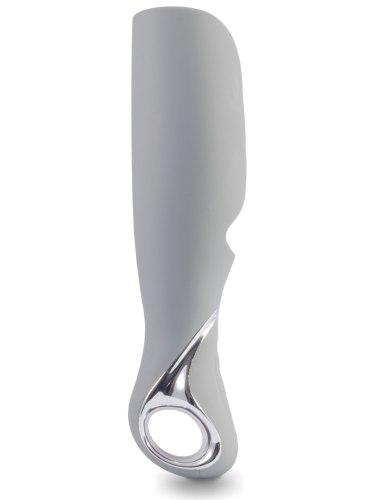 Nabíjecí vibrační masturbátor pro muže Vulcan Grey