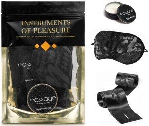 Sada erotických pomůcek Instruments of Pleasure Orange – Sady BDSM pomůcek