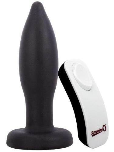 Vibrační anální kolík na dálkové ovládání The Screaming O