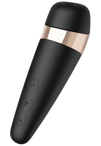 Luxusní nabíjecí stimulátor klitorisu Satisfyer PRO 3 VIBRATION