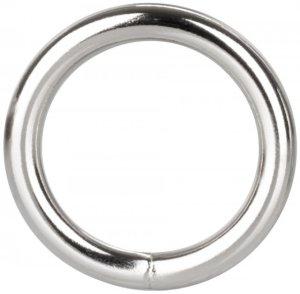 Kovový erekční kroužek Silver Ring – Kovové erekční kroužky