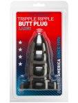Anální kolík Tripple Ripple L