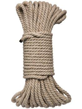 Konopné lano na bondage Hogtied Bind & Tie 50 ft, 15 m – Lana a pásky na bondage (svazování)