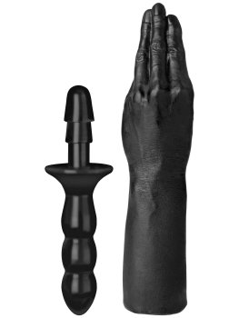 Ruka na fisting s odnímatelnou rukojetí TitanMen THE HAND – Dilda na fisting