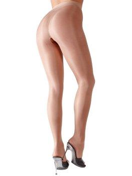 Punčochové kalhoty s otevřeným rozkrokem, tělové – Punčochové kalhoty