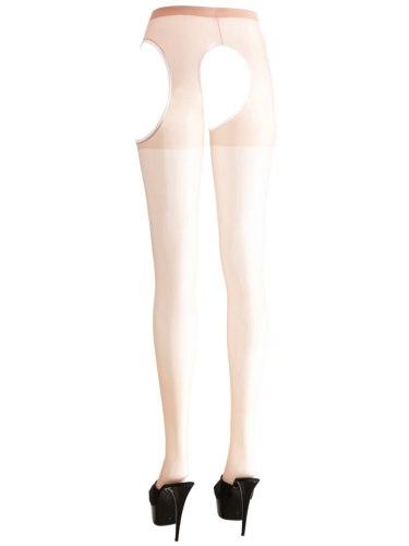 Punčochové kalhoty s velkým otvorem v rozkroku a na bocích, tělové