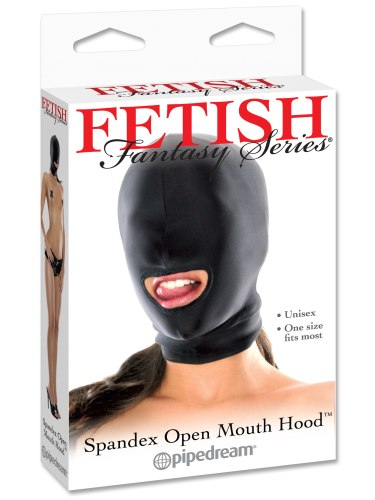 Maska s otvorem pro ústa Fetish Fantasy, unisex