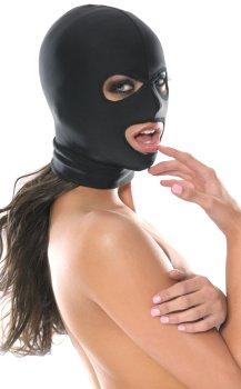 Maska s otvory pro oči a ústa Fetish Fantasy, unisex – Erotické masky na hlavu
