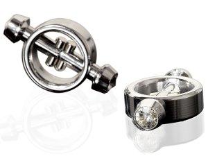 Magnetické svorky na bradavky Metal Worx – Skřipce a svorky na bradavky a stydké pysky