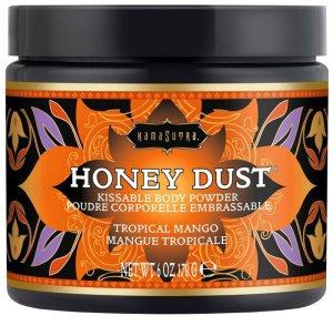 Slíbatelný tělový pudr Honey Dust Tropical Mango – Tělové pudry