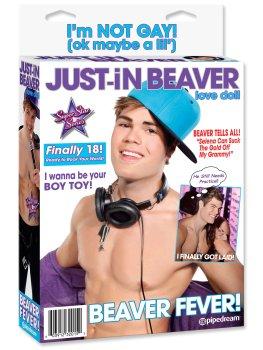 Nafukovací muž Just-In Beaver – Nafukovací muži s penisem, panáci