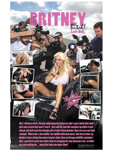 Nafukovací panna Britney Bitch