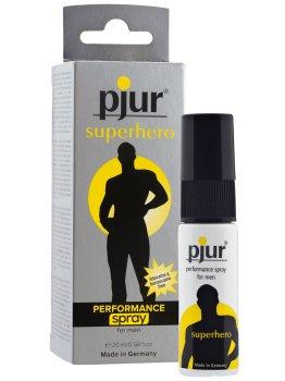 Sprej na oddálení ejakulace Pjur Superhero – Připravky a pomůcky proti předčasné ejakulaci