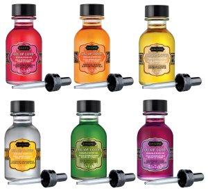 Sada slíbatelných tělových olejů OIL OF LOVE – Tělové oleje