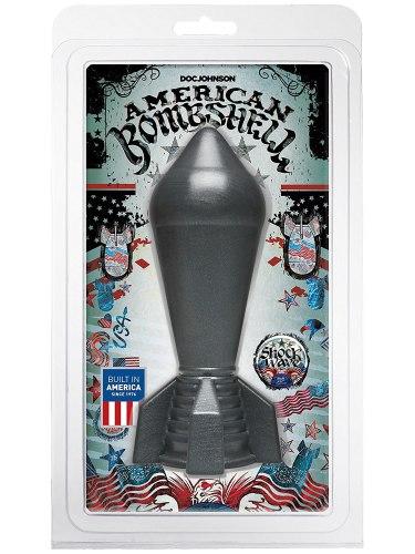 Dildo American Bombshell SHOCKWAVE Gun Metal