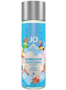 Lubrikační gel System JO H2O Sladká žvýkačka - limitovaná edice – Lubrikační gely na vodní bázi