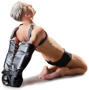 BDSM rukáv na fixaci rukou Fetish Collection – Bondage sady a postroje s pouty