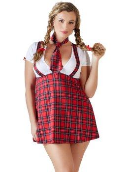Kostým Školačka - Schoolgirl Plus Size – Dámské sexy kostýmy pro roleplay
