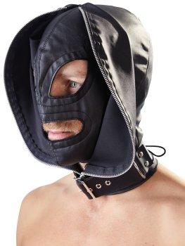 Dvojitá maska Fetish Collection – Erotické masky na hlavu
