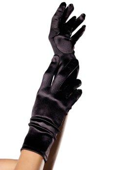 Krátké saténové rukavice – Sexy rukavice