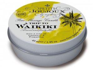 Masážní svíčka A Trip To Waikiki, 43 ml – Masážní svíčky