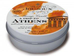 Masážní svíčka A Trip To Athens, 43 ml – Masážní svíčky