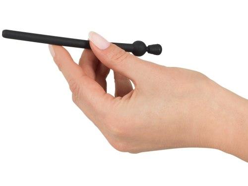 Silikonový dilatátor - kolík do penisu se zátkou Piss Play