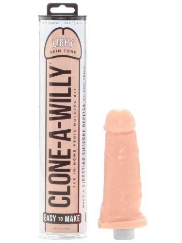 Odlitek penisu Clone-A-Willy Light Skin Tone - vibrátor