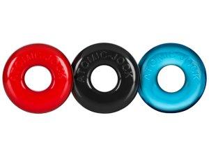 Nevibrační erekční kroužky: Sada erekčních kroužků Ringer