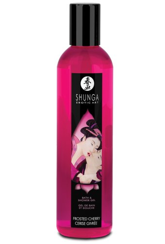 Sprchový gel Shunga Frosted Cherry