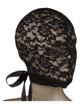 SCANDAL Krajková maska na hlavu se šněrováním – Erotické masky na hlavu