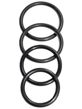 Sada kroužků k postrojům na připínací penisy Sportsheets O-Ring – Postroje na strapony
