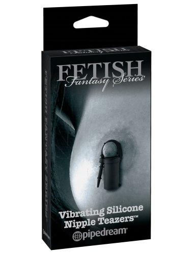 Silikonové vibrační svorky Nipple Teazers