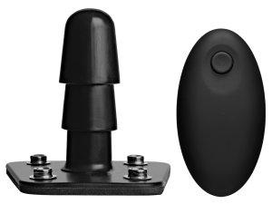 Vibrační kolík s dálkovým ovládáním Vac-U-Lock – Postroje na strapony