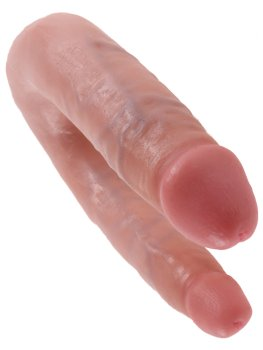 Dvojité realistické dildo King Cock Small Double Trouble – Dvojitá a oboustranná dilda