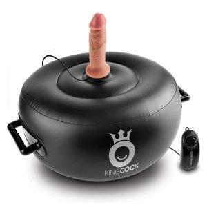 Nafukovací sedátko s vibrátorem Vibrating Inflatable Hot Seat – Vibrační sedátka a lehátka