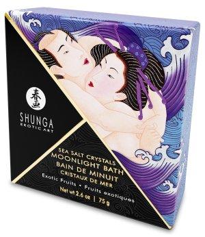 Sůl do koupele Shunga Exotic Fruits - exotické ovoce – Sůl do koupele