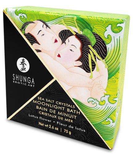 Sůl do koupele Shunga Lotus Flower - lotosový květ