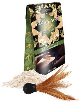 Slíbatelný tělový pudr Honey Dust Sweet Honeysuckle, 28 g – Tělové pudry
