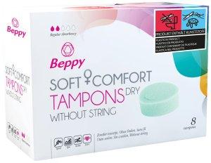 Menstruační houbičky Beppy DRY – klasické, 8 ks – Menstruační tampony (houbičky)