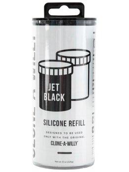 Náhradní silikon pro Clone-A-Willy, černý – Odlitky penisu