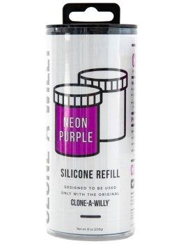 Náhradní silikon pro Clone-A-Willy, fialový – Odlitky penisu