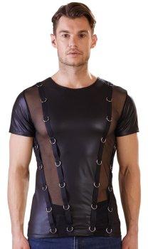 Pánské tričko s kovovými kroužky NEK – Pánská trička, tílka a topy
